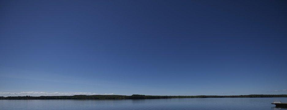 Lago en suecia