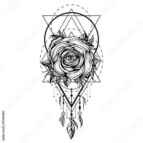 """""""black Chaplet, Rose Flower With The Eye, Pattern Of"""