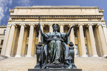 The Library of Columbia University in the City of New York