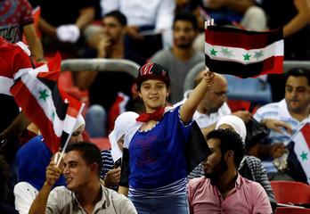Football Soccer - Syria v Australia - 2018 World Cup Qualifiers - Asia Zone Playoffs - Hang Jebat Stadium, Melaka, Malaysia