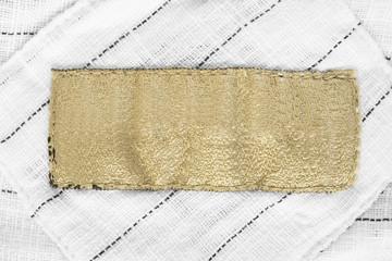 Textile clothes label