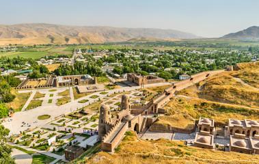 View of Hisor Fortress in Tajikistan