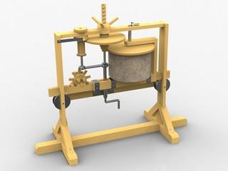 Gearbox, Leonardo da Vinci, Codex Madrid I/0014r
