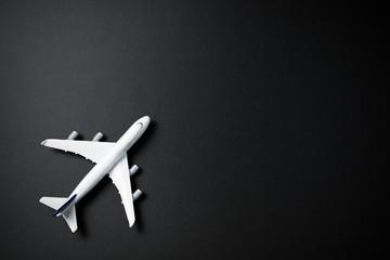 Miniature airplane isolated