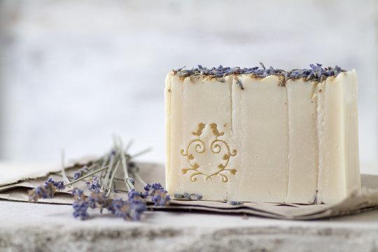 Close-up of homemade soap
