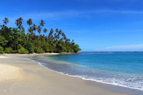 Tropical beach, Solomon Islands
