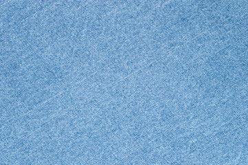 Natural blue jeans texture background