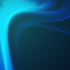 Abstract dynamic background, futuristic wavy illustration