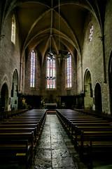 L'Église du Saint-Sépulcre à Villeneuve d'Aveyron