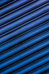 Abstract Lined Garage Doors Close Up