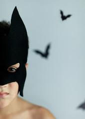 Homemade masked hero