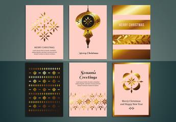 Christmas Greeting Card Set