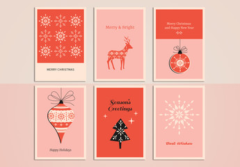 Christmas Greeting Card Set 10