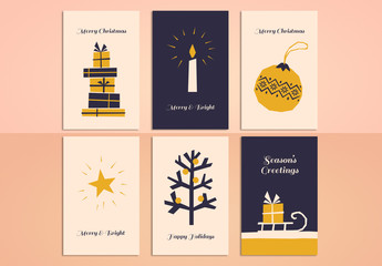 Christmas Greeting Card Set 12