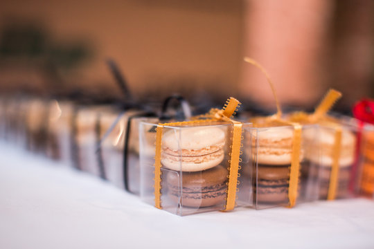 Wedding Party Favor Macaroons