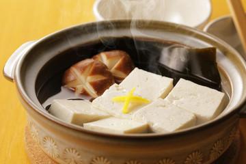 湯豆腐 Boiled tofu