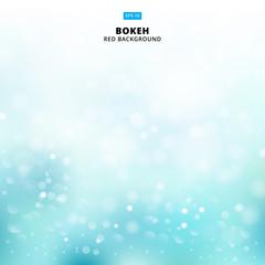 Bluelight background abstract design vector illustration blur circle bokeh, snow, Vector