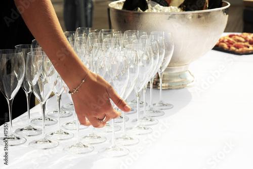 Bicchieri di cristallo