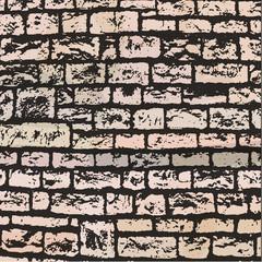 mur brique vecteur