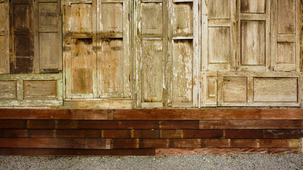 Timber wood wall background
