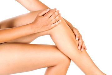 Piernas y rodillas de mujer