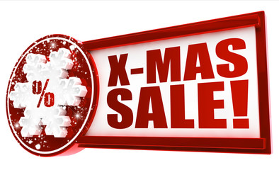 X-Mas Sale! Button, Icon