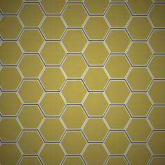 Modern Hexagon Design