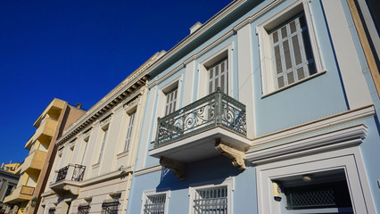 Photo from iconic neoclassic houses in Plaka district, Athens historic center, Attica, Greece
