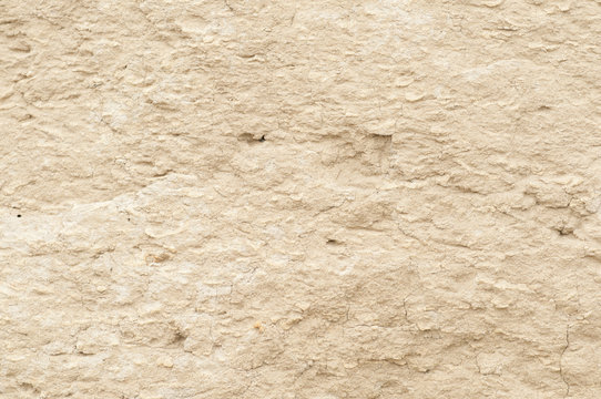 Texture of a sand clay wall