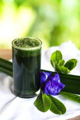Natural herbal vegetable juice Thailand herbs