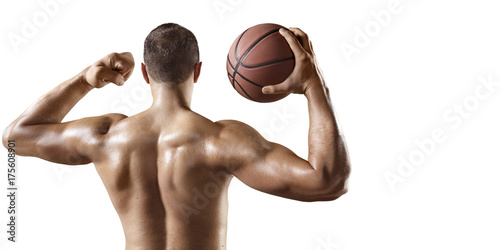 Naked white basketball player tit and ass