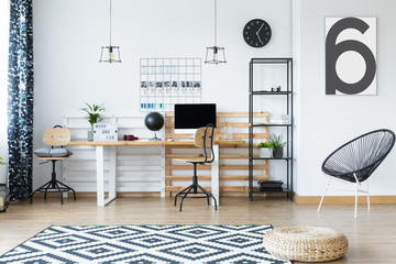 Hygge style home office