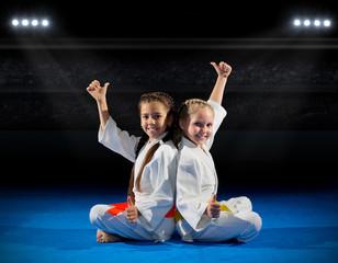 Foto op Aluminium Vechtsport Grils martial arts fighters