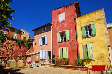 Old Town of Roussillon, Provence, France