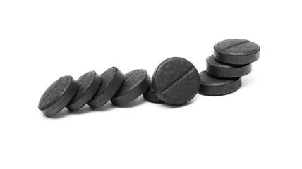 black pills (activated coal)