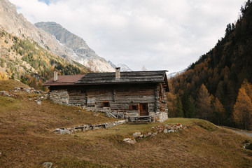 Typical mountain chalet