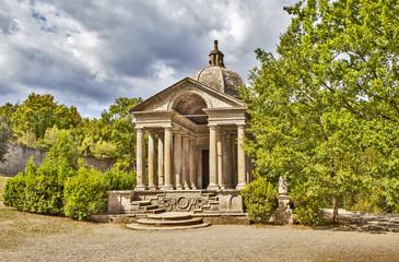Храм Вечности. «Парк монстров» или «Священный лес». Бомарцо. Италия