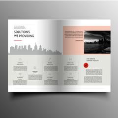 Wonderful office corporate brochure design