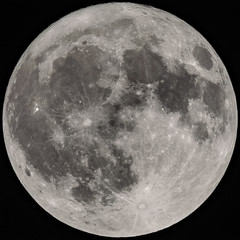 Full Moon at 1280mm