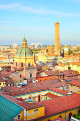 Wall Mural - View of Bologna