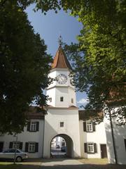 Torbogen  Klosterkirche Bad Schussenried