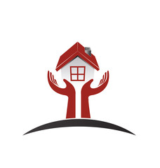 Logo real estate first buyers couple