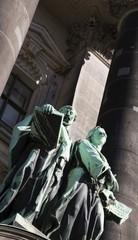 Foto op Canvas Art Studio Sculptures at Berlin Cathedral, Berlin, Germany, Europe