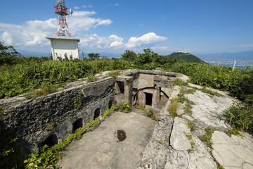 函館山要塞の遺構