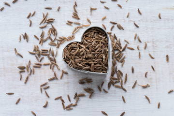 Heart healthy caraway seeds