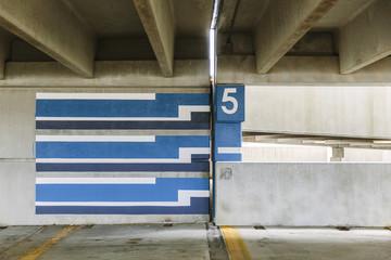 Floor 5 Parking Garage