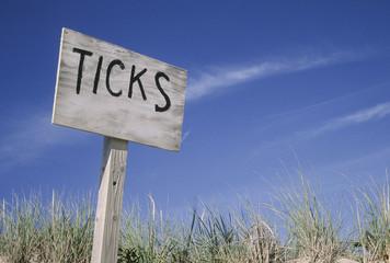 Keep out!  Ticks
