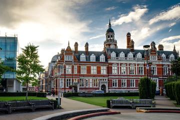 Croydon Central Library is Croydon's main public library located inside the Croydon Clocktower in Croydon, south London