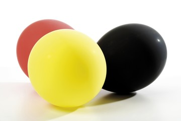 Balloons, German national colours