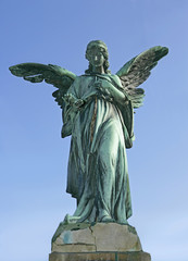 Angel Statue, cemetery